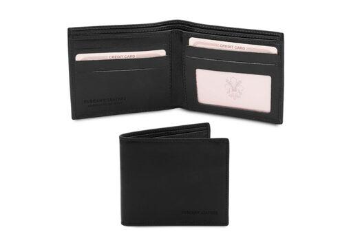 Πορτοφόλι Ανδρικό Tuscany-TL142056 Μαύρο
