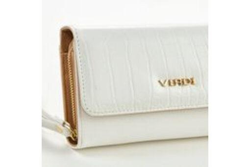 Πορτοφόλι Verde 18-0001062 Λευκό