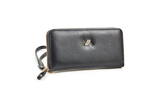 Πορτοφόλι Verde 18-0001126 Μαύρο