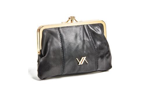 Πορτοφόλι Verde 18-0001137 Μαύρο