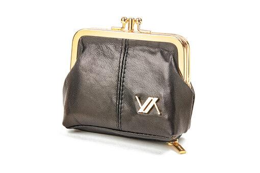 Πορτοφόλι Verde 18-0001138 Μαύρο