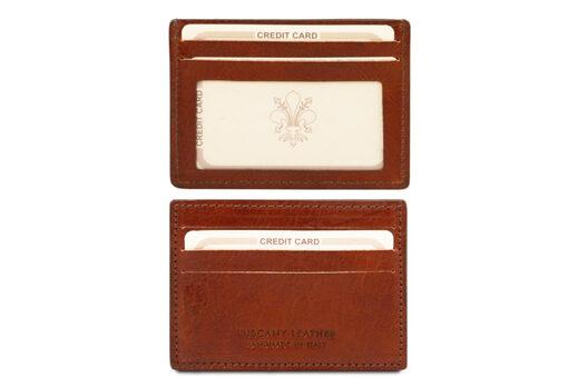 Θήκη Επαγγελματικών/Πιστωτικών καρτών Tuscany-TL140805 Καφέ