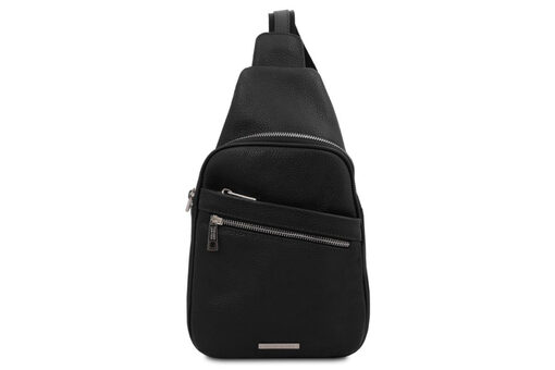 Τσάντα Ανδρική Πλάτης Tuscany-Albert TL142022 Μαύρο