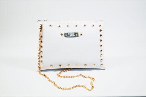 Τσάντα Χιαστί Dolce 218020 Λευκό