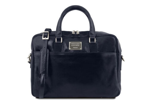 Τσάντα Laptop Tuscany-Urbino TL141241 Μπλε σκούρο