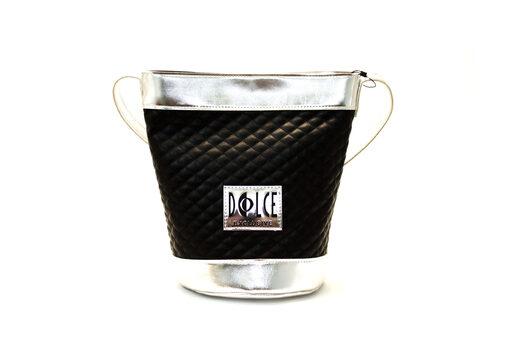 Τσάντα Ώμου-Χειρός Dolce Καπιτονέ 218007 Μαύρο
