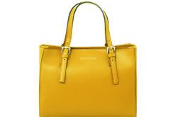 Τσάντα Ώμου-Χειρός Tuscany Aura TL141434 Κίτρινο