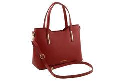 Τσάντα Ώμου-Χειρός Tuscany Olimpia TL141412 Κόκκινο