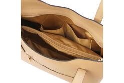 Τσάντα Ώμου-Χειρός Tuscany Olimpia TL141412 Σαμπανιζέ