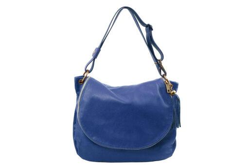 Τσάντα Ώμου-Χειρός Tuscany TL141110 Μπλε