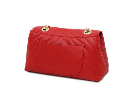 Τσάντα Ώμου-Χειρός Tuscany TL142015 Κόκκινο lipstick
