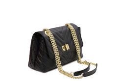 Τσάντα Ώμου-Χειρός Tuscany TL142015 Μαύρο