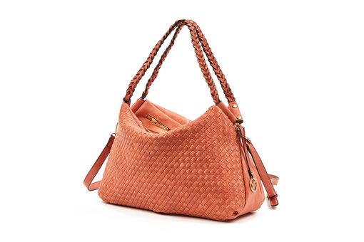 Τσάντα Ώμου-Χειρός Verde 16-0005874 Πορτοκαλί