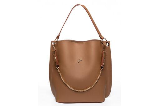 Τσάντα Ώμου-Χειρός Veta 5080 Καμηλό