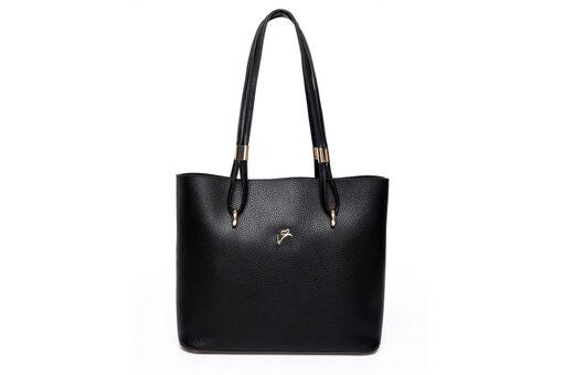 Τσάντα Ώμου-Χειρός Veta 5136 Μαύρο