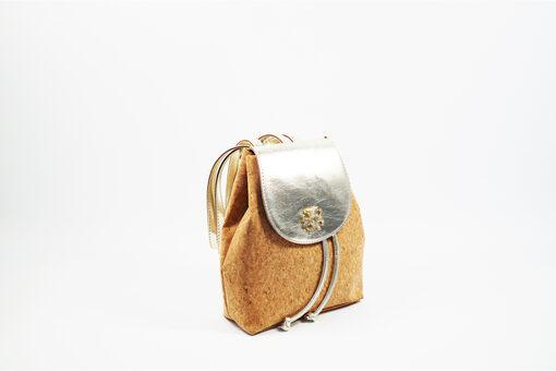 Τσάντα Πλάτης Dolce 218034 Μπέζ - Χρυσό