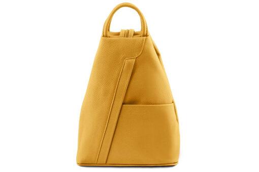 Τσάντα Πλάτης Tuscany TL141881 Κίτρινο