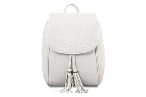 Τσάντα Πλάτης Tuscany TL141905 Λευκό