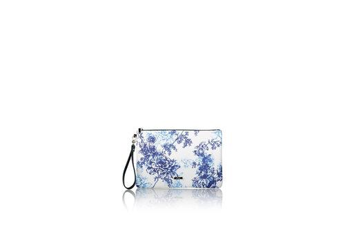 Τσάντα Χειρός Axel NEREIDA 1020-0481 Λευκό - Μπλε σκούρο