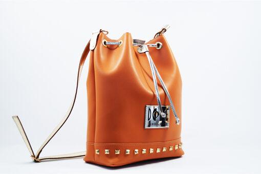 Τσάντα Ώμου-Χειρός Dolce 218003 Καμηλό